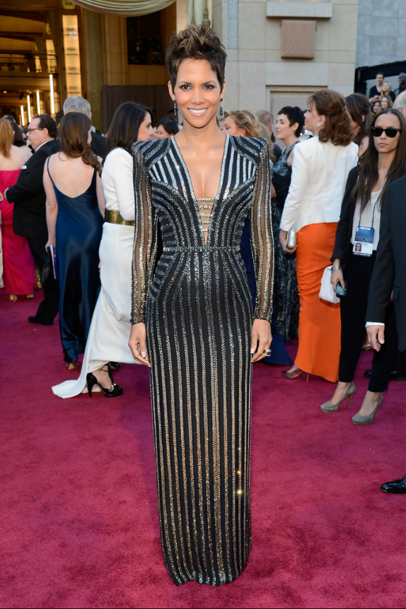 Halle Barry in Versace